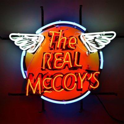 画像1: THE REAL McCOY'S NEON SIGN