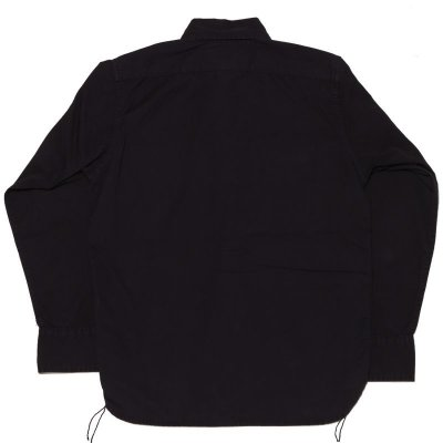 画像2: KHAKI SHIRT DYED BLACK