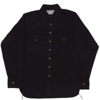 KHAKI SHIRT DYED BLACK
