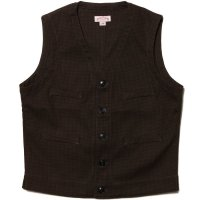 DOUBLE DIAMOND HOUNDSTOOTH VEST