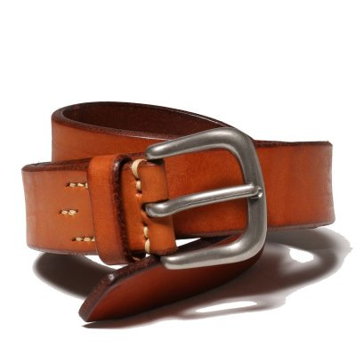 画像1: JOE McCOY BEND LEATHER BELT