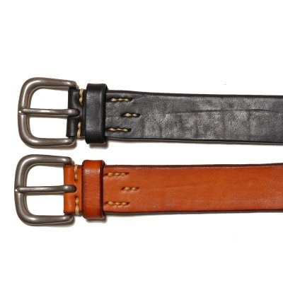 画像2: JOE McCOY BEND LEATHER BELT