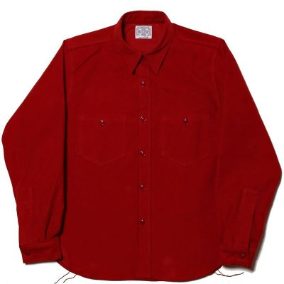 画像1: 8HU SATEEN WORK SHIRT