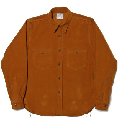 画像2: 8HU SATEEN WORK SHIRT