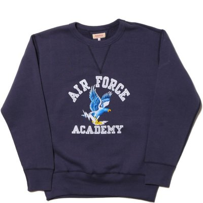 画像1: MILITARY SWEATSHIRT / AIR FORCE ACADEMY