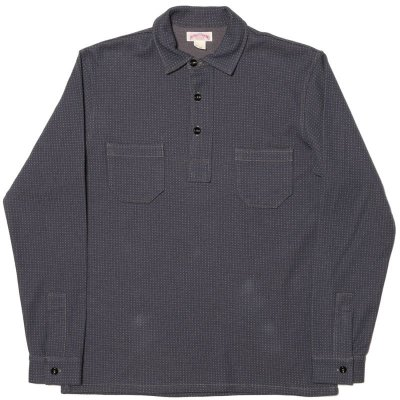 画像1: DOUBLE DIAMOND PULL-OVER KNIT SHIRT