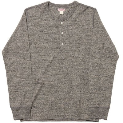画像2: DOUBLE DIAMOND TWIST YARN HENLEY SHIRT