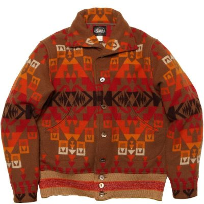 画像1: NATIVE WOOL BLANKET JACKET