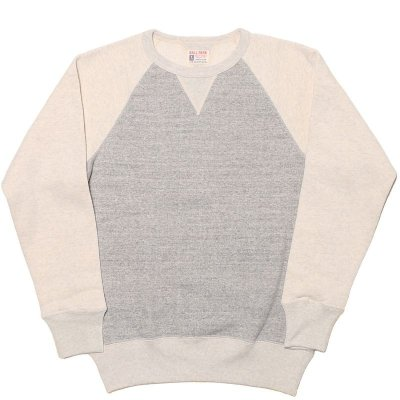 画像1: TWO-TONE FREEDOM SLEEVE SWEATSHIRT