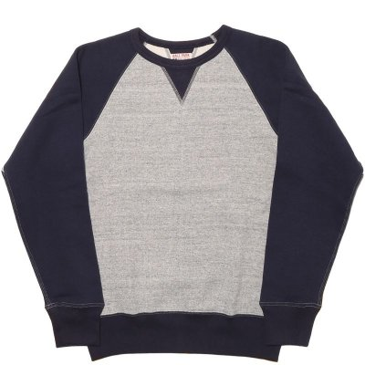 画像2: TWO-TONE FREEDOM SLEEVE SWEATSHIRT