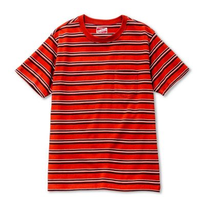 画像2: SCHOOL BOY STRIPE TEE