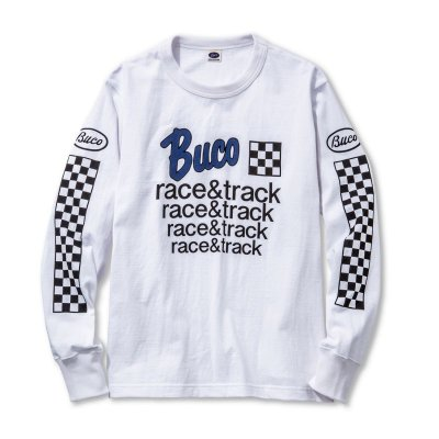 画像1: BUCO LONG SLEEVE TEE / RACE & TRACK