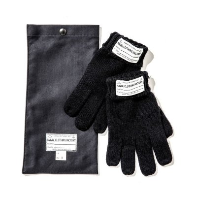 画像1: USN KNIT GLOVE