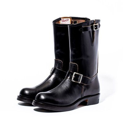 画像1: BUCO HORSEHIDE ENGINEER BOOTS / BUTTOCK