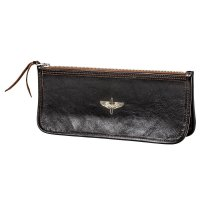 McCOY'S HORSEHIDE LARGE ZIPPER WALLET / AAC
