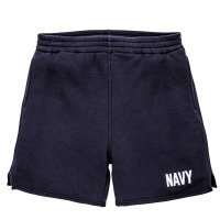 PHYSICAL FITNESS SWEATSHORTS / NAVY