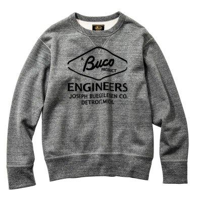 画像1: BUCO SWEATSHIRT / ENGINEER