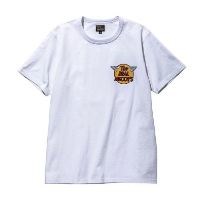 画像2: THE REAL McCOY'S LOGO TEE S/S