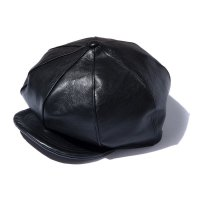HORSEHIDE NEWS BOY CAP