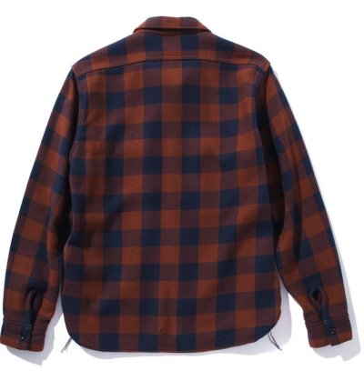 画像2: 8HU BUFFALO CHECK FLANNEL SHIRT