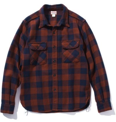 画像1: 8HU BUFFALO CHECK FLANNEL SHIRT