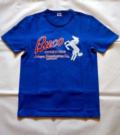 画像1: BUCO T-SHIRT / HORSEHIDE