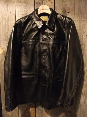 レザーカーコート(MJ15151)