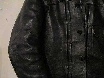 SINGLE-POCKET LEATHER SPORTS JACKET