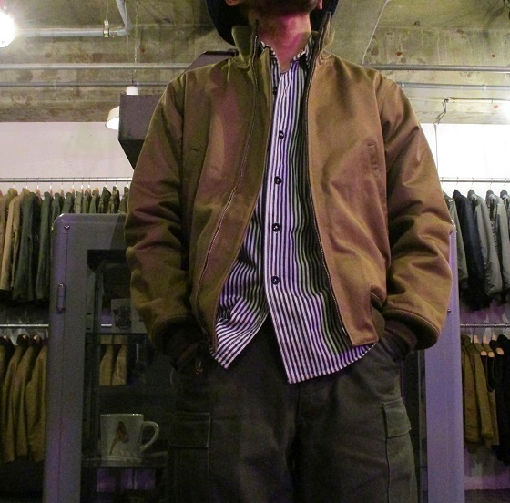 JACKET, COMBAT, WINTER REAL McCOY MFG. CO.