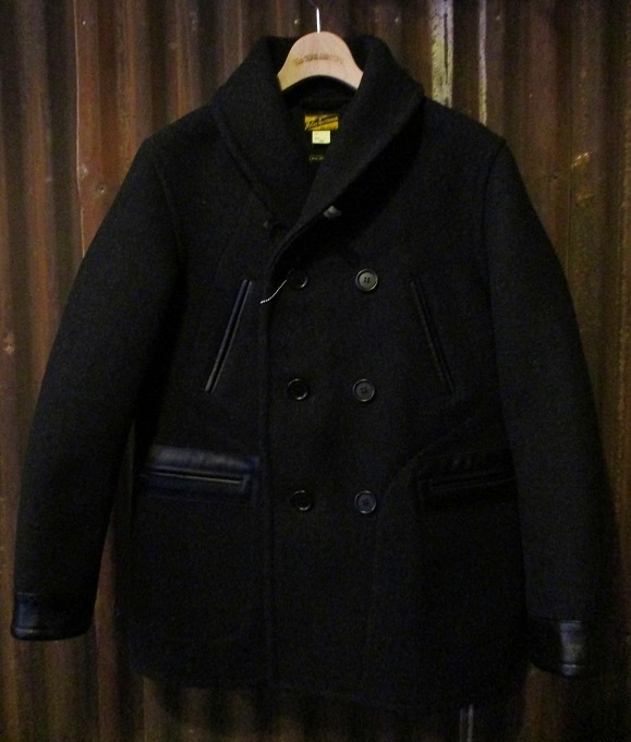 WOOL RAILROAD COAT