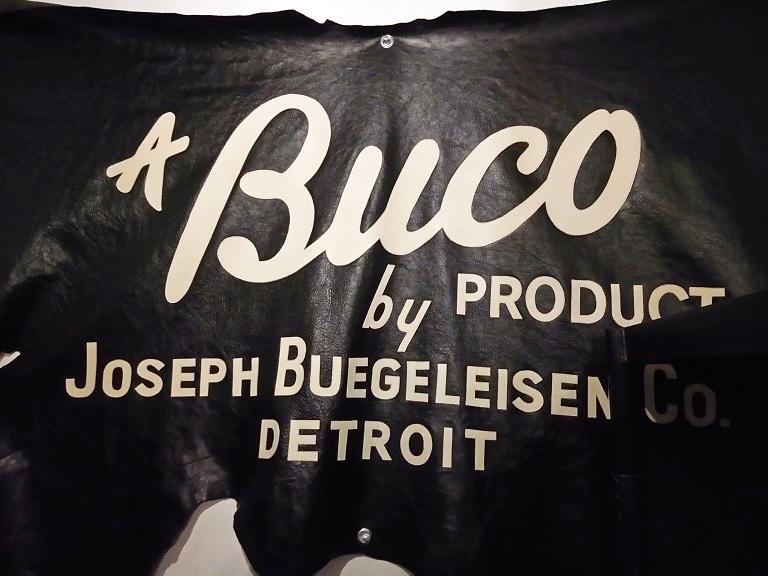 BUCOのライダースジャケット