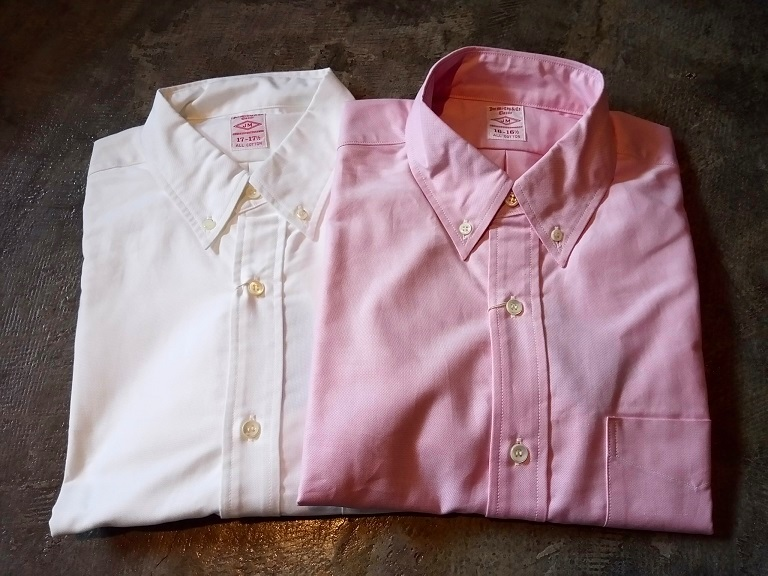ボタンダウンシャツがオススメです!