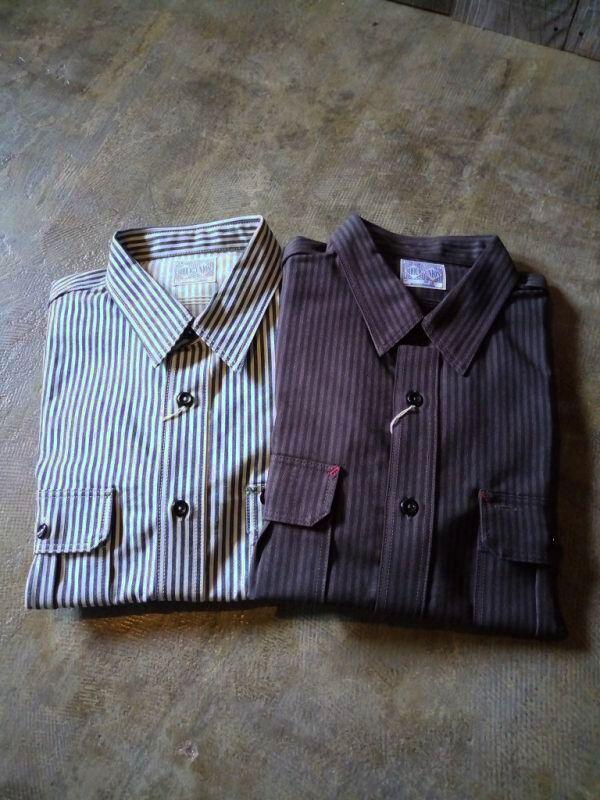 ヒッコリーワークシャツ